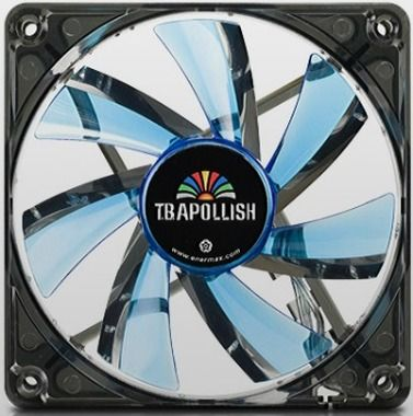ENERMAX UCTA12N-BL / T.B.Apollish fan / ventilátor / 120mm / 900rpm / modrá LED