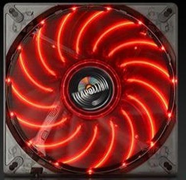 ENERMAX UCTA14N-R / T.B.Apollish fan / ventilátor / 140mm / 750rpm / červená LED
