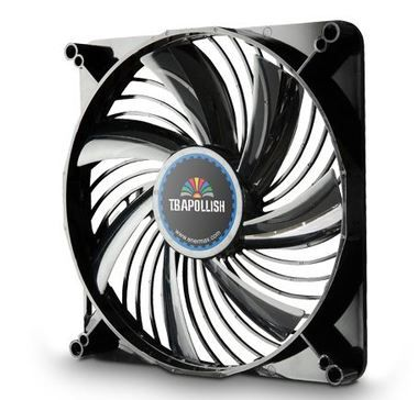 ENERMAX UCTA18A-BL  / T.B.Apollish fan / ventilátor / 180mm / 600, 900, 1200rpm / modrá LED