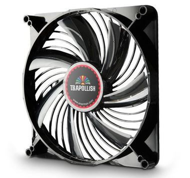 ENERMAX UCTA18A-R / T.B.Apollish fan / ventilátor / 180mm / 600, 900, 1200rpm / červená LED