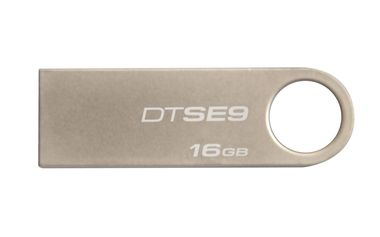 Kingston DataTraveler SE9 16GB / Flash Disk / USB 2.0 / kovový / bez potisku