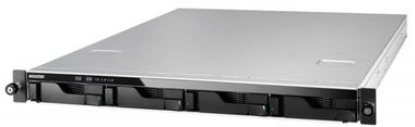 Asustor AS604RD / 4x HDD / Intel Atom DC @2.13GHz / 1GB RAM / HDMI 1.3a / 2x USB 3.0 / 4x USB 2.0 / 2x GLAN