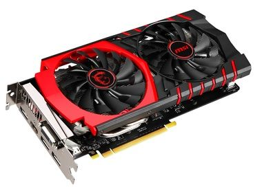MSI GTX 960 GAMING 4G / 1127-1304MHz / 4GB 7010MHz / 128-bit / DVI + HDMI + 3x DP / 120W (8)