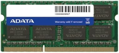 ADATA 4GB / 1600MHz / DDR3 / CL11 / SODIMM / 1.5V / Retail