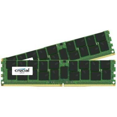 Crucial 2X16GB / 2133Mhz / DDR4 / CL15 / DR x4 / ECC Registered / DIMM / 288pin