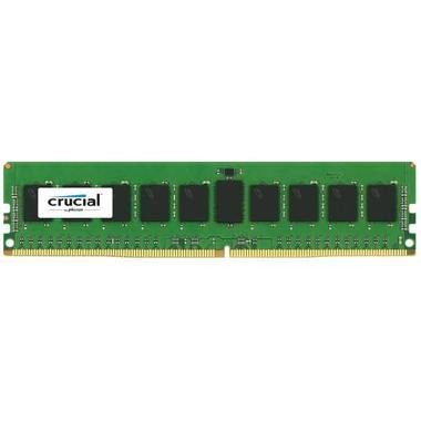 Crucial 8GB / 2133MHz / DDR4 / CL15 / SR x4 / ECC Registered / 2 Rank / DIMM