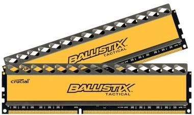 Crucial Ballistix Tactical 2x4GB / 1866MHz / DDR3 / CL9 / DIMM / 1.5V / Heat Spreader