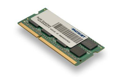 Patriot 4GB Ultrabook Line / 1600MHz / DDR3 / CL11 / SODIMM / pro Ultrabooky