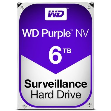 "WD Purple NV 6TB / HDD / 3.5"" SATA III / IntelliPower / 64MB cache / 3y"