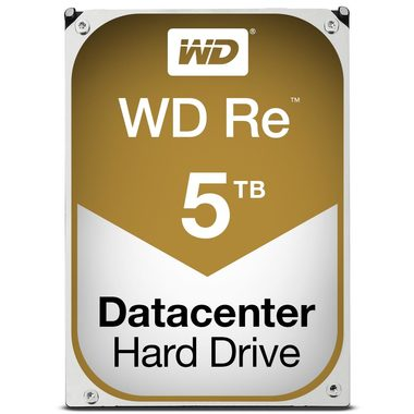 "WD Re 5TB / HDD / 3.5"" SATA III / 7 200 rpm / 64MB cache / 5y"