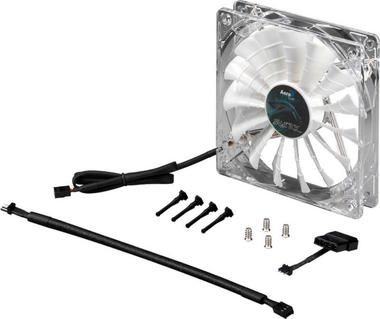 AeroCool Shark Fan / 140 mm / Ventilátor / White Edition