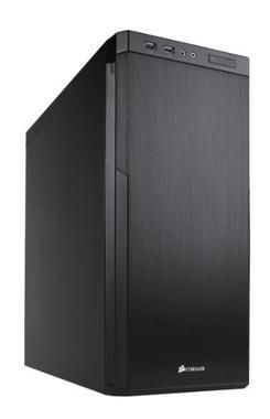 Corsair Carbide 330R Blackout Edition / E-ATX / 2x USB 3.0 / 1x 120 mm + 4x 140 mm
