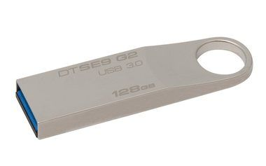 Kingston DataTraveler SE9 G2 128GB / USB 3.0 / Kovový