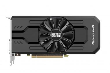 Gainward GeForce GTX 950 / 1026-1190MHz / 2GB 6610MHz / 128-bit / 2x DVI + HDMI + DP / 120W (6)
