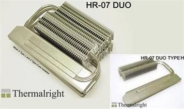 THERMALRIGHT HR-07 DUO type H / chladič pro paměti