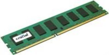 Crucial 8GB / DDR3L / ECC Registered / 1600MHz / PC3-12800 / CL11 / 1.35V / Dual Ranked x4