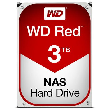 "WD Red 3TB / HDD / 3.5"" SATA III / 5 400 rpm / 64MB cache / 3y"
