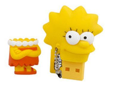 Tribe 8GB USB SIMPSON Lisa / Flash Disk / USB 2.0