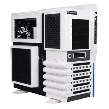 Thermaltake VN10006W2N Level 10 GT Snow Edition / midi tower / USB 3.0 / USB 2.0 / bez zdroje / E-ATX, ATX / bílá