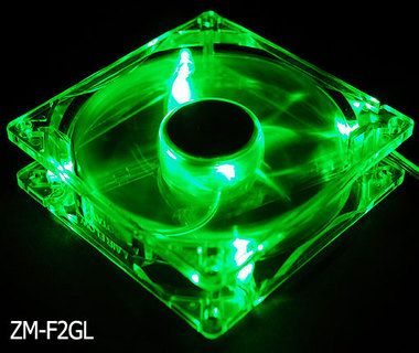 ZALMAN ZM-F2GL Green LED / 92mm / 20-35dB