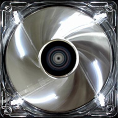 AeroCool Silver Lighting LED Fan / 140mm / ventilátor