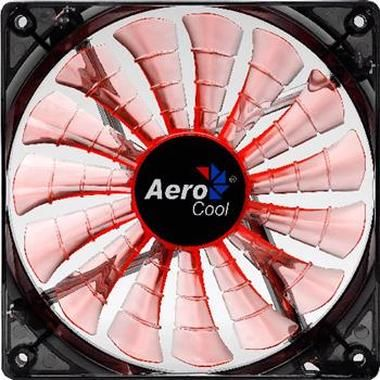 AeroCool Shark Fan / 140 mm / Ventilátor / Evil Black Edition