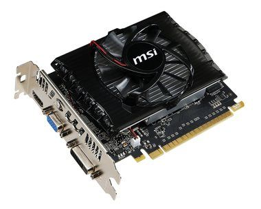 MSI N730-2GD3V2 / GeForce GT 730 700MHz / 2GB DDR3 1800MHz / 128 bits / PCIe 2.0 / DVI+HDMI+VGA
