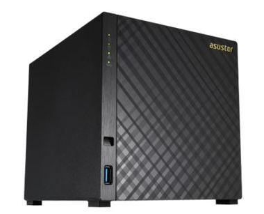 Asustor AS3104T/ 4x HDD / Intel Celeron N3050 @1.6GHz / 2GB RAM / 3x USB 3.0 / HMI 1.4b / GLAN