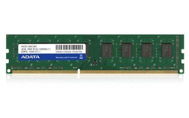 ADATA 8GB DDR3L 1600MHz / CL11 / 1.35 V