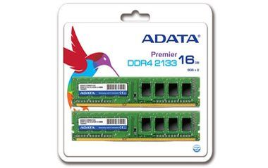 ADATA Premier 16GB (KIT 2x8GB) / 2133MHz / DDR4 / CL15 / 1.2V