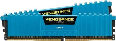 Corsair Vengeance 16GB (Kit 2x8GB) / 3000MHz / DDR4 / CL15 / DIMM / modrý chladič