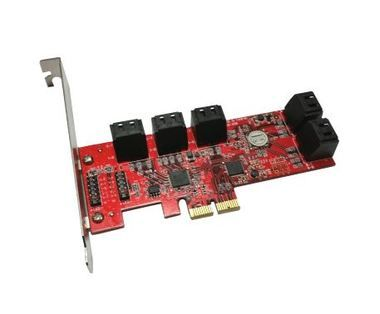 Addonics Internal 10-Port SATA 6G PCIe 2-Lane kontrolér