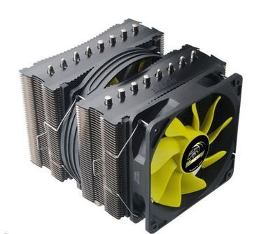 AKASA AK-CC4010HP01 Venom Medusa / chladič CPU / pro Intel a AMD / 120mm fan  / 8x heatpipe
