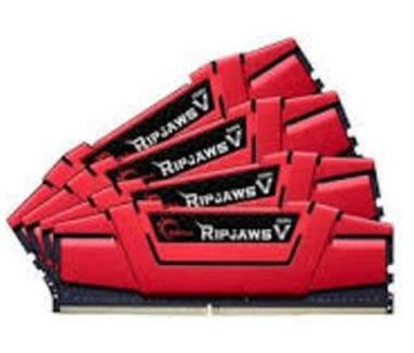 G.Skill Ripjaws V Red Series 64GB (4x 16GB) / DDR4 / 2133MHz / 15-15-15-35
