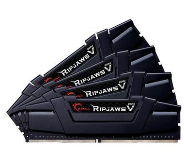 G.Skill Ripjaws V Black Series 64GB (4x 16GB) / DDR4 / 3200MHz / 16-18-18-38