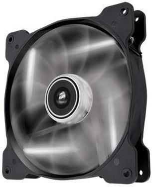 Corsair SP140 LED White / 140 mm / Hydraulic Bearing / 29.3 dB @ 1440 RPM / 84.1 m3h / 3-pin
