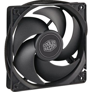 Cooler Master Silencio FP 120 PWM / 120 mm / Loop Dynamic Bearing / 14 dB @ 1400 RPM / 74.7 m3h / 4-pin