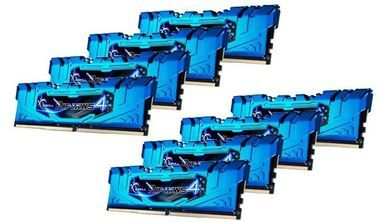 G.Skill Ripjaws4 Blue Series 64GB (8x 8GB) / DDR4 / 2666MHz / 16-16-16-36 / 1.2V