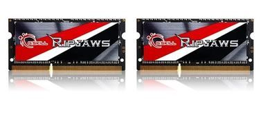 G.Skill Ripjaws Series 16GB / KIT 2x8GB / SO-DIMM / DDR3L / 1600MHz / 11-11-11-28 / 1.35V