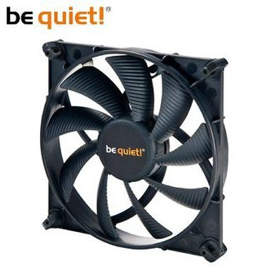 be quiet! Silent Wings 2 140 / 140mm / Fluid Dynamic Bearing / 15.8dB @ 1000RPM / 60.4CFM / 3-pin