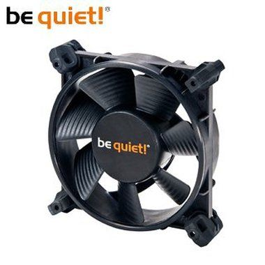 be quiet! Silent Wings 2 92 / 92mm / Fluid Dynamic Bearing / 16.9dB @ 1800RPM / 32.6CFM / 3-pin