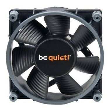 be quiet! Shadow Wings 80 Low-Speed / 80mm / Rifle Bearing / 8.4dB @ 1400RPM / 14.8CFM / 3-pin