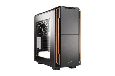 be quiet! SILENT BASE 600 Window Orange / ATX / 2x USB 2.0 + 2x USB 3.0 / 1x 120 mm + 4x 140 mm