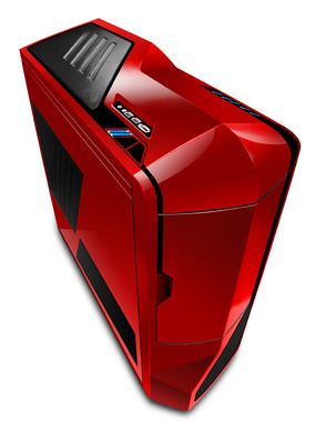 NZXT Phantom Red / E-ATX / 1x USB 2.0 + 1x USB 3.0 / 1x 120mm + 1x 140mm + 3x 200mm