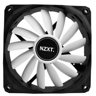 NZXT FZ 120 / 120mm / Long Life Bearing / 26.8dB @ 1200RPM / 59.1CFM / 3-pin