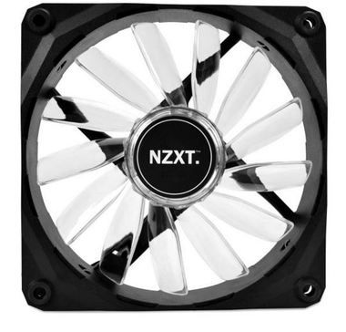 NZXT FZ 120 LED Orange / 120mm / Long Life Bearing / 26.8dB @ 1200RPM / 59.1CFM / 3-pin