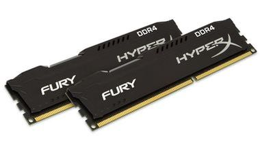 HyperX Fury 8GB DDR4 2666MHz / CL15 / DIMM / Non-ECC / Un-Registered / 1.2V