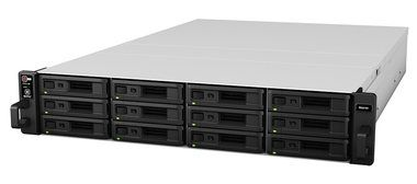 Synology RackStation RS2416rp+ / 12x HDD / Intel QC @2.4GHz / 2GB RAM / 2x USB 3.0 / 2x USB 2.0 / 4x GLAN