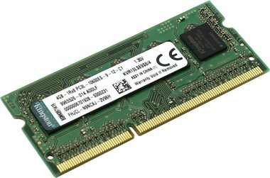 Kingston 4GB DDR3L 1333MHz / CL9 / 1.35V / SO-DIMM