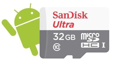 SanDisk microSDHC 32 GB Ultra Android / 48MB/s / UHS-I / class 10/U1